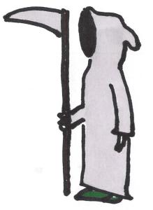 problems everyone has - the grim reaper - killer
