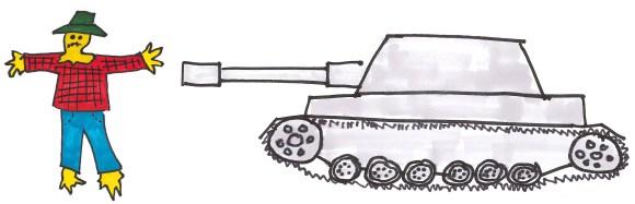 Lean Enterprise Straw Man vs. Tank