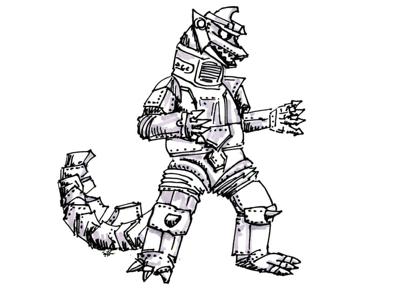 MechaGodzilla - Monster Projects That Will Kill Your Career as an Intrapreneur