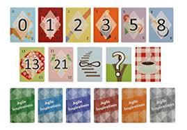 scrum poker cards