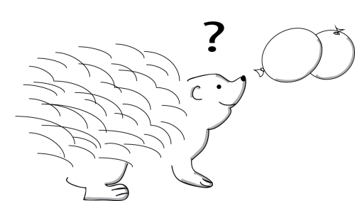 """We""""re selling water balloons to a porcupine because our customer discovery cohort was too small."""