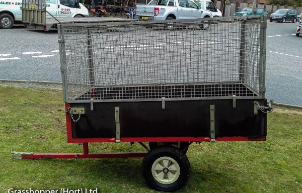 Saxon Tipping Trailer Sold