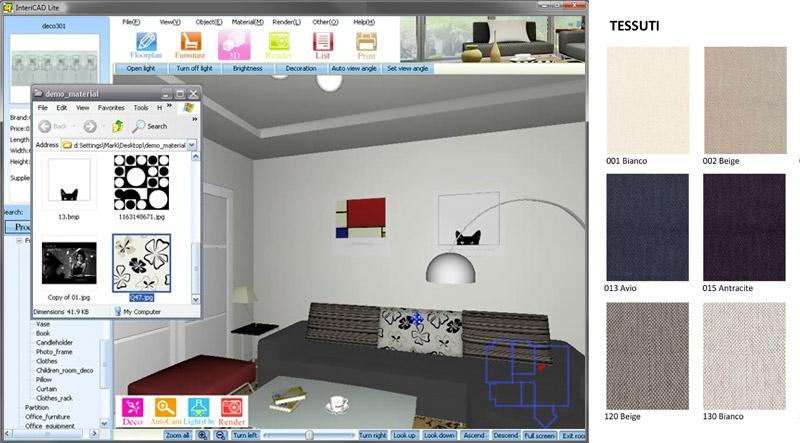 progettazione interni 3d