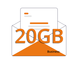 Casella Email Business 20gb