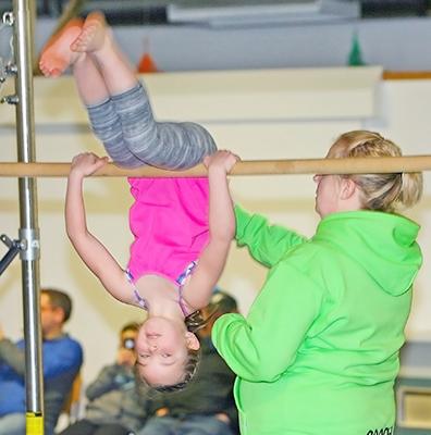 Gymnastics club ends season