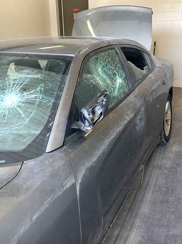 Town being inundated by break-ins and thefts