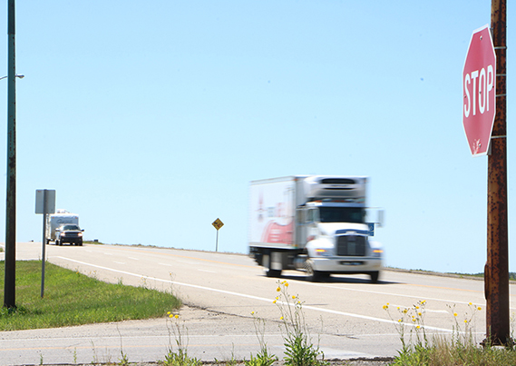 Councillor thinks changes needed to address speeds on Highway 10