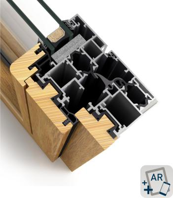 Cor Galicia Premium Alum-madera RPT-1
