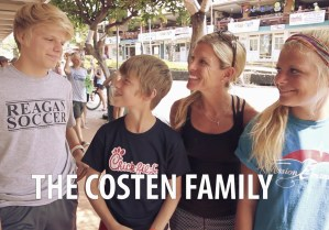 A Family's Suffering and Reward at IronMan 2014