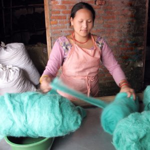 California and Nepal Knit Together In Yarn Production