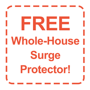 FREE Whole-House Surge Protector!