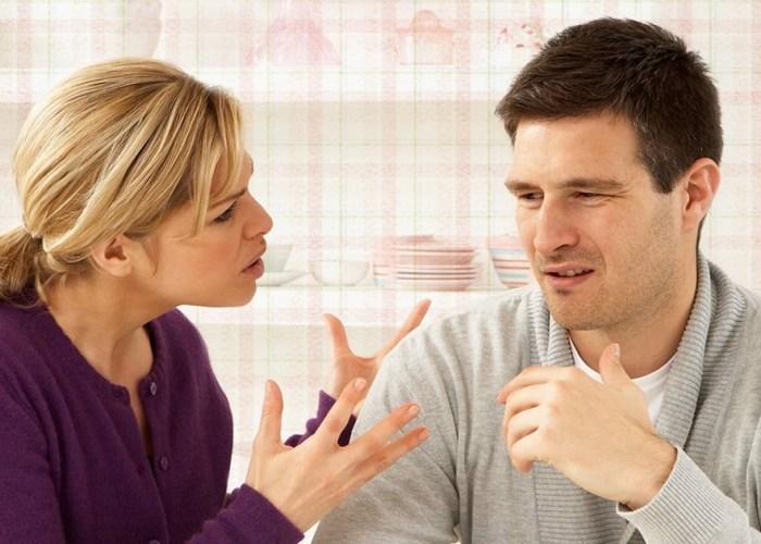 ссора с женой фото