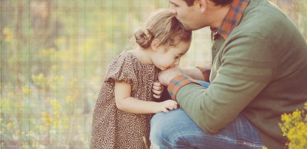 папа и дочка нежное фото