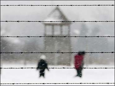 The former Nazi concentration camp of Auschwitz-Birkenau - photo by AP