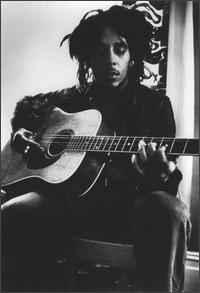 Bob on the guitar