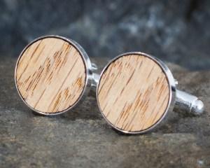Beach Wood Cufflinks