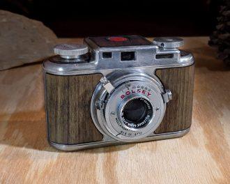 Bolsey b2 wood film camera