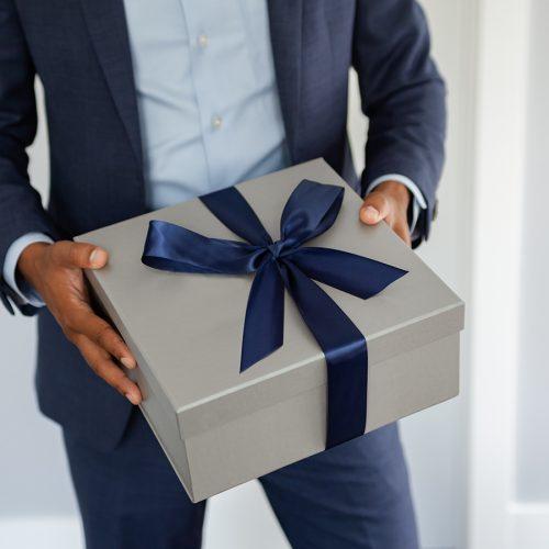 Corporate Gift Box Custom Logo