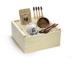 Eco Friendly Gift Box Sustainable Gift Vegan Friendly Gift Zero Watse Plastic Free Organic Gift Box Set Basket