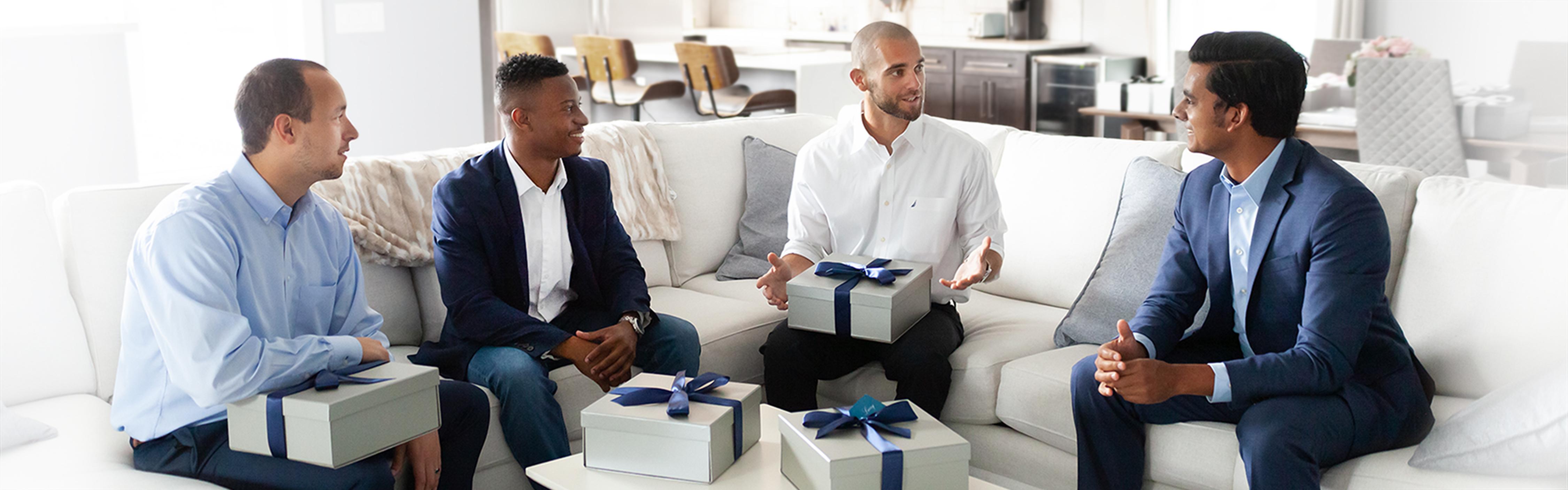 Gift Box For Men - Grateful Gadgets Ban