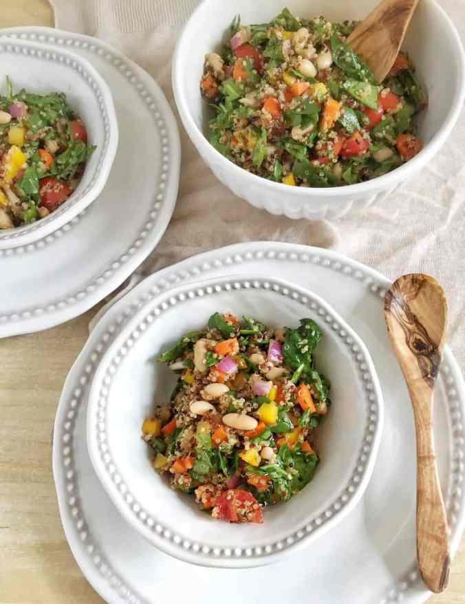 Rainbow Quinoa Salad {+ Phytonutrient Guide} | The Grateful Grazer | www.gratefulgrazer.com