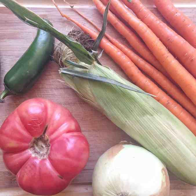 Spicy Three Bean Veggie Chili | The Grateful Grazer | www.gratefulgrazer.com | #thereciperedux #freezerfriendly #vegan #vegetarian #chili #glutenfree
