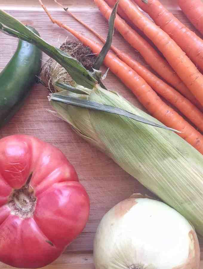 Spicy Three Bean Veggie Chili + Batch-Cooking
