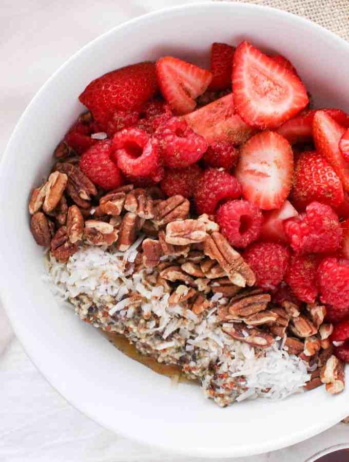 Chai Quinoa Breakfast Bowl