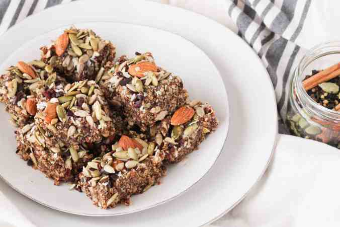 Warm Chai Spice Bars are the perfect way to celebrate the Fall season. Recipe is vegan and sweetened with maple syrup.