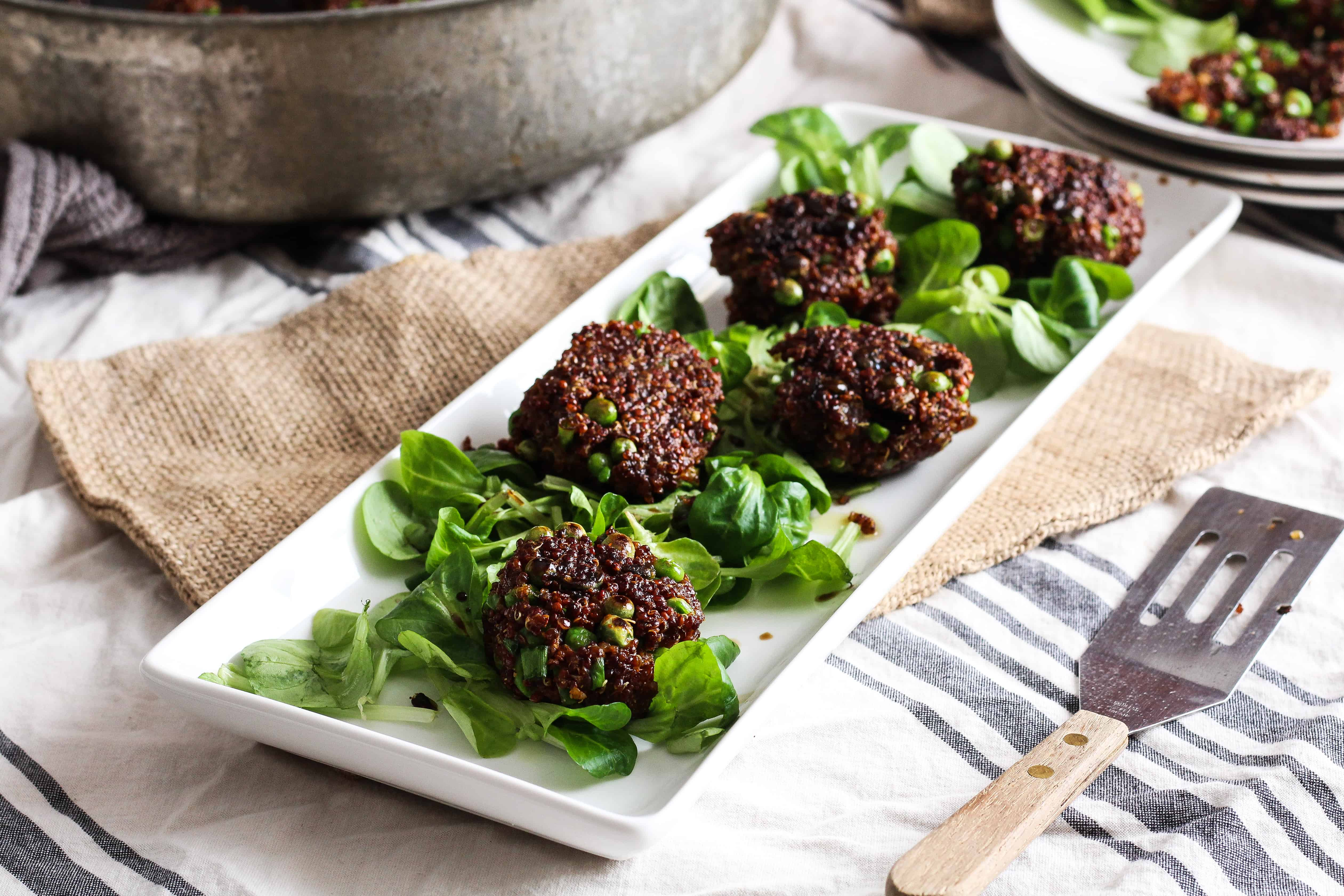 These Fiber And Proteinrich Quinoa Cakes Or Fritters Are The Perfect  Plantbased