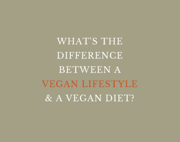 WHAT'S THE DIFFERENCE BETWEEN A VEGAN LIFESTYLE & A VEGAN DIET?