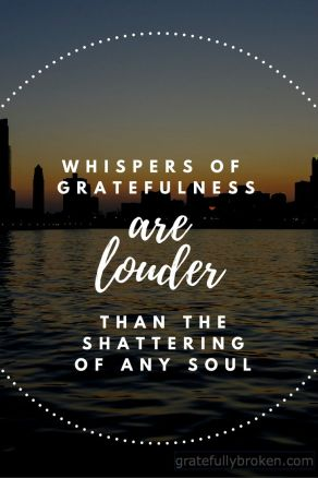 the whispers of gratefulness
