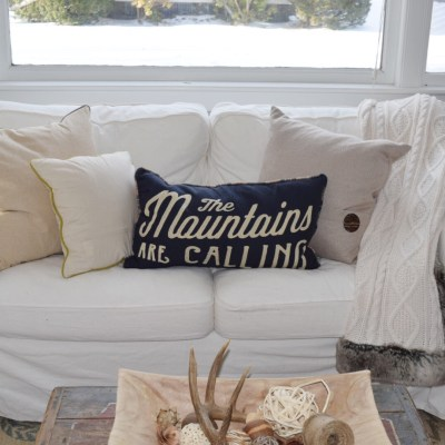 Winter Home Tour – Tips for Making Winter Decor Cozy