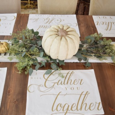 Beautiful Thanksgiving Placemats for Your Table