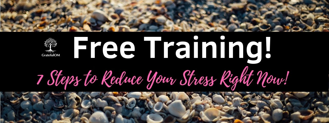 Free Training Class - 7 tips to reduce stress