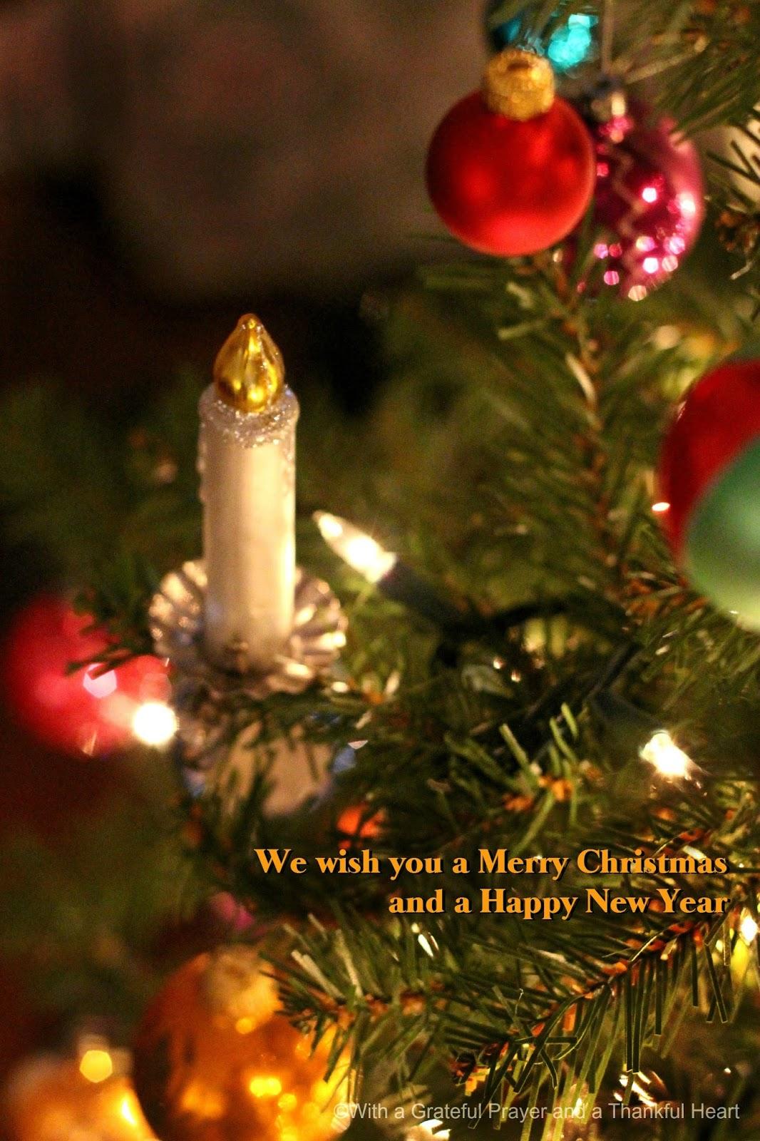 Christmas At Home Grateful Prayer Thankful Heart