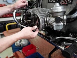 Ventilspielkontrolle BMW R100S