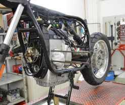 kompletter Neuaufbau und Umbau einer BMW R100GS PD (Paris Dakar)