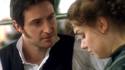 """2004 as John Thornton with Daniela Denby-Ashe as Margaret Hale in """"North & South"""""""