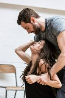 """2014 """"The Crucible"""" rehearsals photo"""