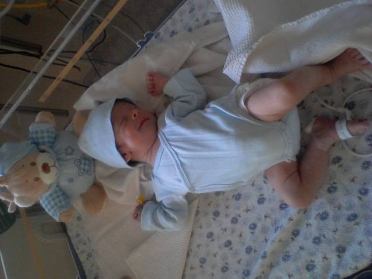 Ionut la incubator