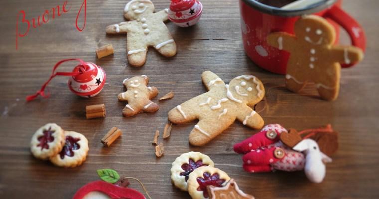 Biscotti di pan di zenzero per Natale