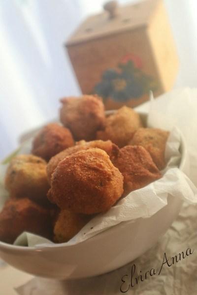 polpette con merluzzo patate ed olive