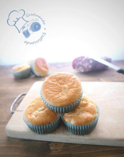 muffin salati con soppressata e provola