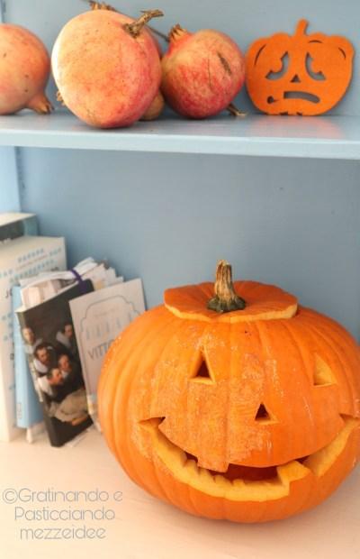 la vera zucca di Halloween