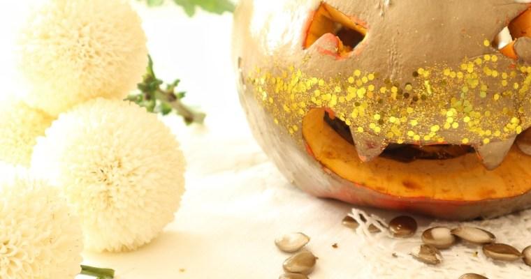 La glam pumpkin di Halloween