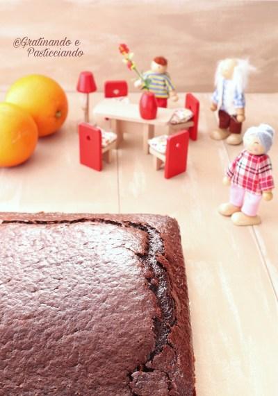 torta cacao e arancia