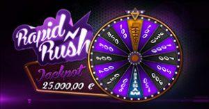 bonusspel dice spinner Rapid Rush