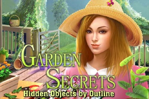 Garden Secrets Hidden Objects by Outline