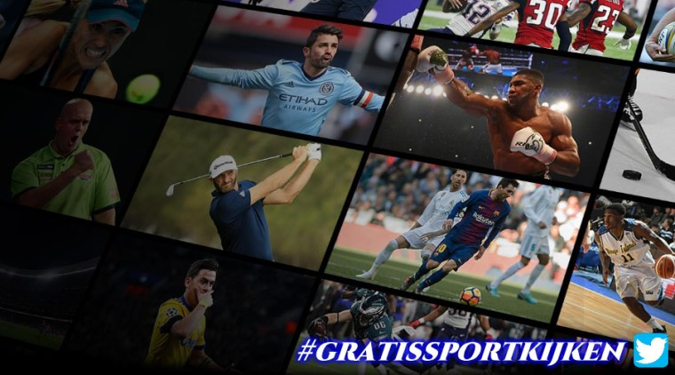 Gratis sport livestreams
